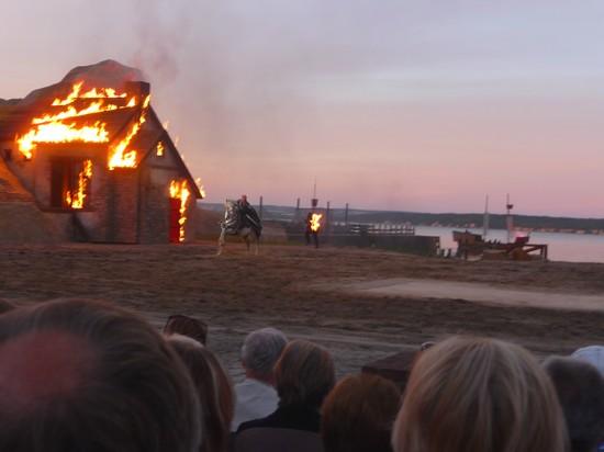 Action pur bei den Störtebeker Festspielen in Ralswiek
