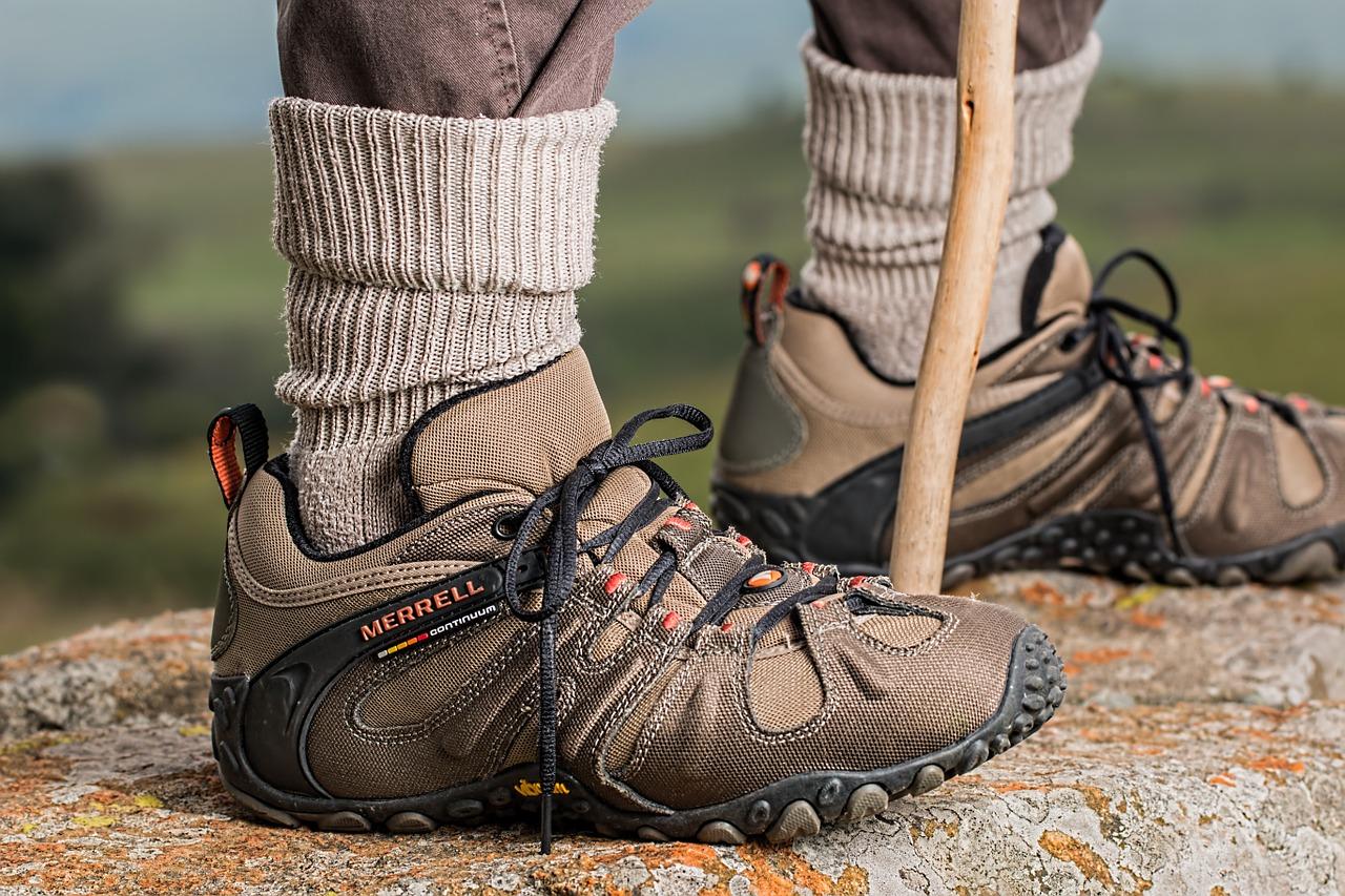 Festes Schuhwerk für den 5. Wanderherbst auf Rügen