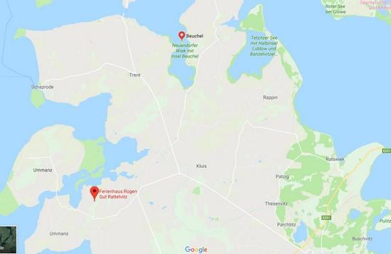 Insel Beuchel Google Maps