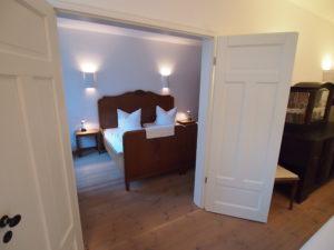 Schlafzimmer Wohnung Parterre 2
