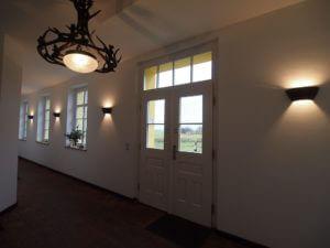 Eingangsbereich Gut Rattelvitz